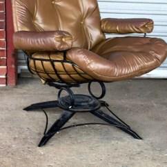 Antique Beach Chair Supreme Revolving Price List Homecrest Etsy Vintage Mid Century Lounge By