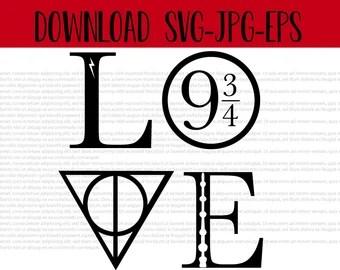 Download Download Harry Potter Love Svg Free PNG Free SVG files ...