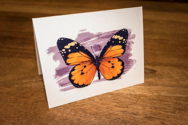 Monarch Butterfly Notecards Beautiful Stationery