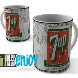 7up Old Can Soda Pop Series Sublimation Mug Template Etsy