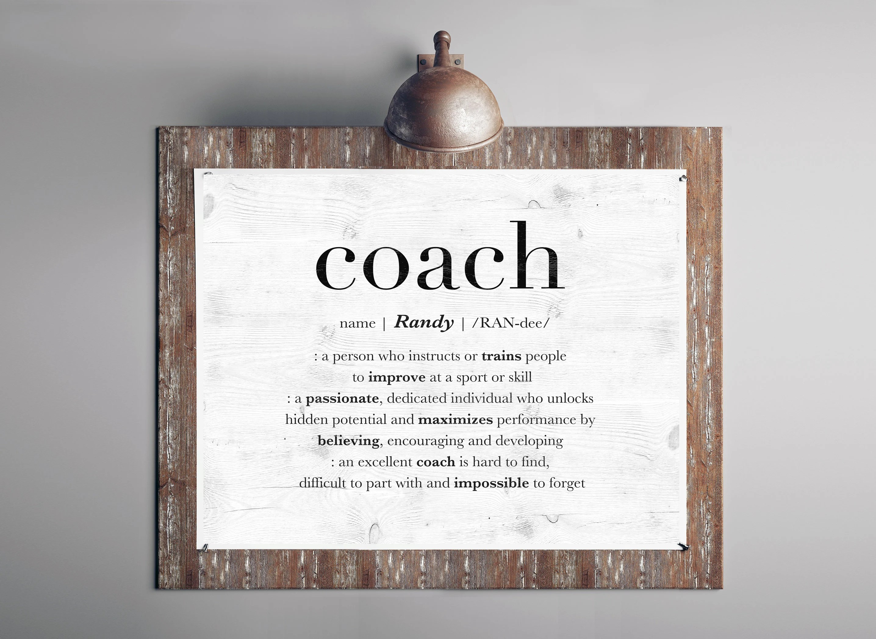 Coach Thank You Etsy