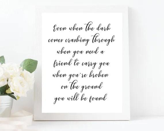 Dear Evan Hansen Quotes Wallpaper Dear Evan Hansen Wall Art Broadway Musical Print Broadway