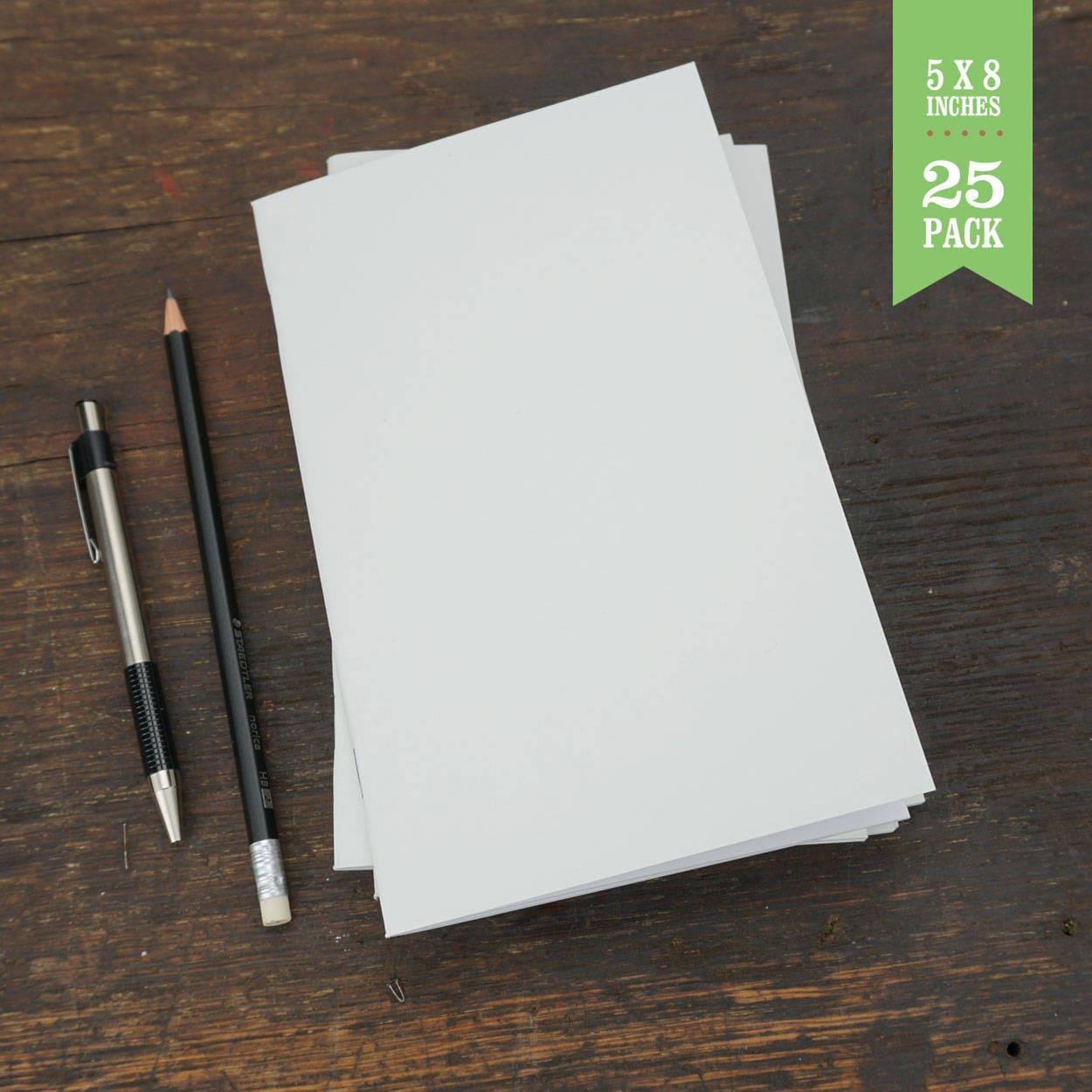 bulk notebooks white blank