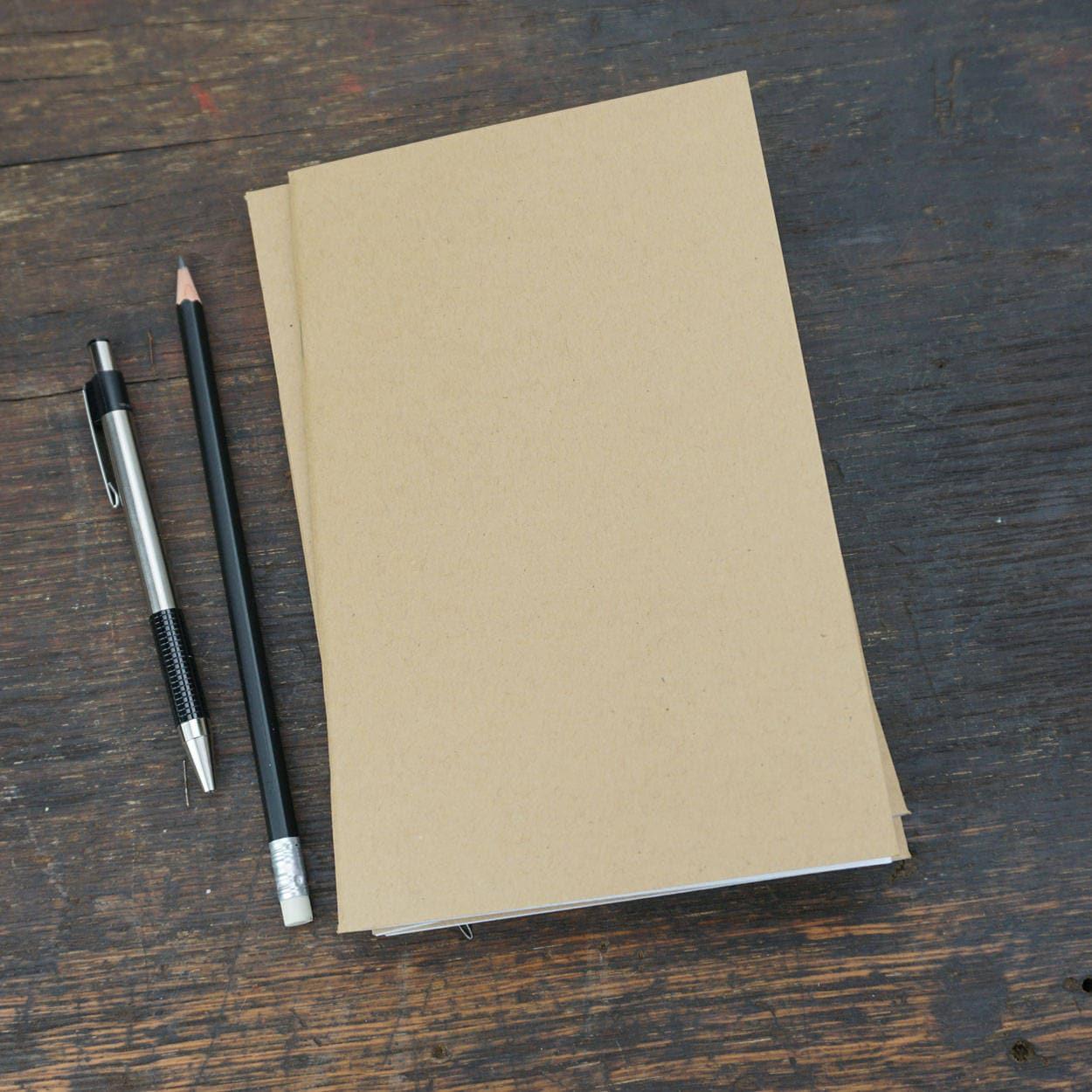 bulk kraft notebooks 5