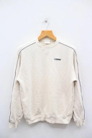 Vintage ADIDAS Small Spell Small Logo Sportswear Cream image 0