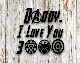 Download Download I Love You 3000 Svg Free Crafter Files
