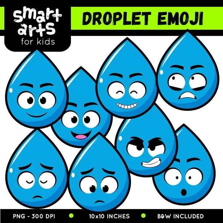 droplet emoji clip art