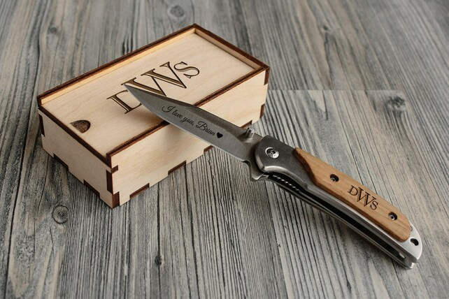 engraved knife personalized christmas