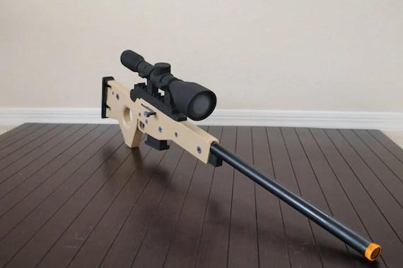 Bolt Action Sniper Rifle Legendary 3D Printed Fortnite