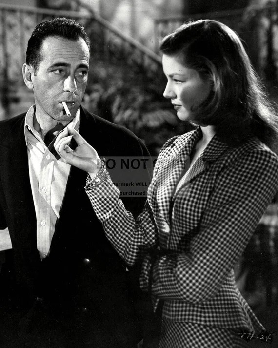Humphrey Bogart & Lauren Bacall in To Have and Have | Etsy