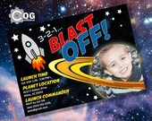 Space Blast Off Printable...
