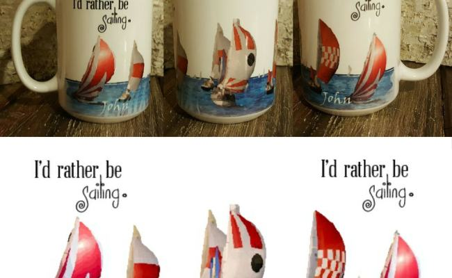 Personalized Sailing Mug Unique Gift For Friend