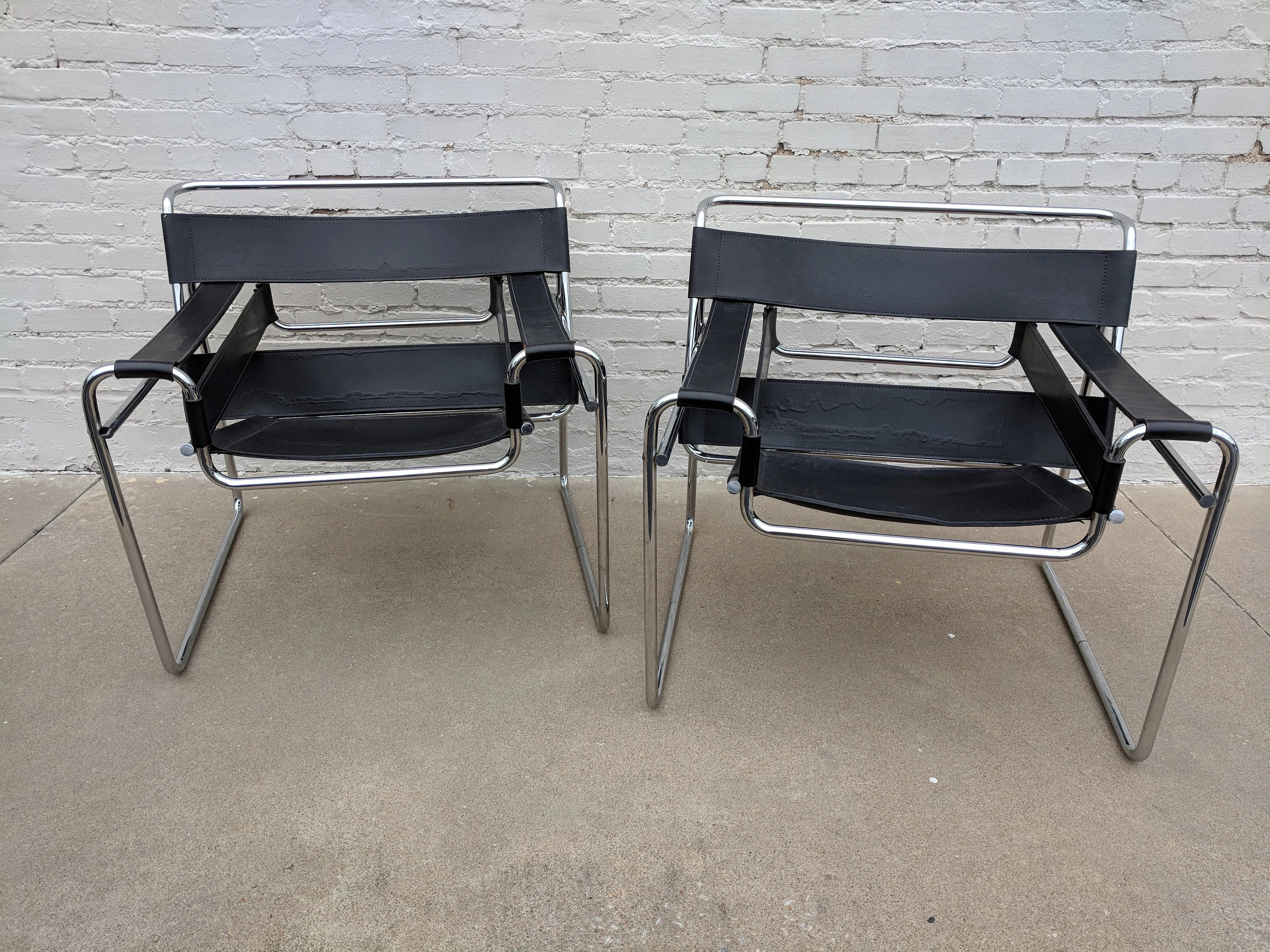 breuer chairs for sale bedroom chair comfortable marcel etsy mid century modern style wassily