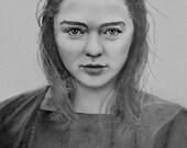 Arya Stark Art Print