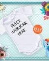 Baby Vest Mock Up Bodysuit Mock Up Onesie Mock Up Product Etsy