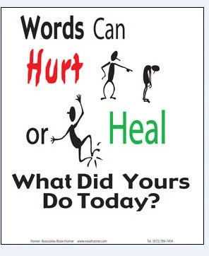 Words Can Hurt or Heal What Did Yours Do Today Immediate