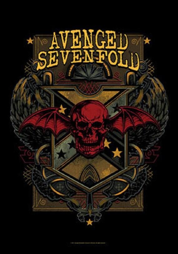 avenged sevenfold textil plakat flagge