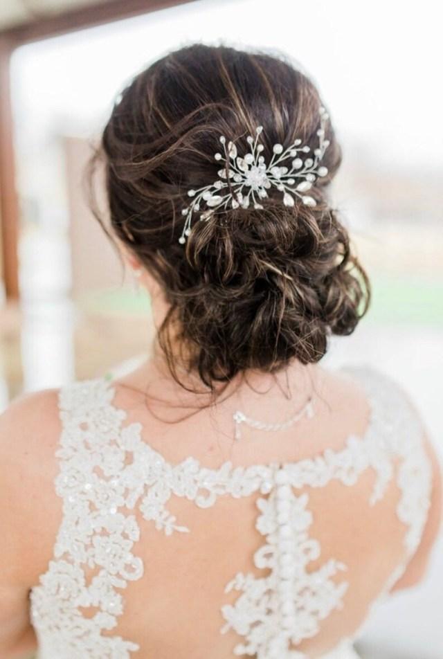 crystal bridal hair pins silver bridal hair pin pearl hair pins wedding bobby pins bridal hair comb wedding hair accessory bridal bobby pins