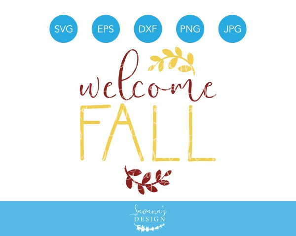 Fall Svg Autumn Leaves Files