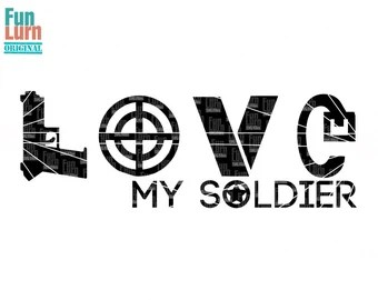 Download Love army svg | Etsy
