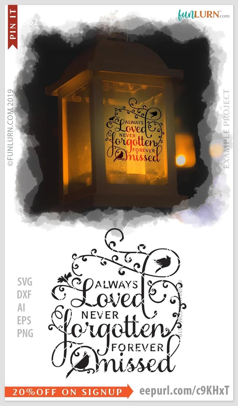 Download Always loved never forgotten forever missed svg in loving ...