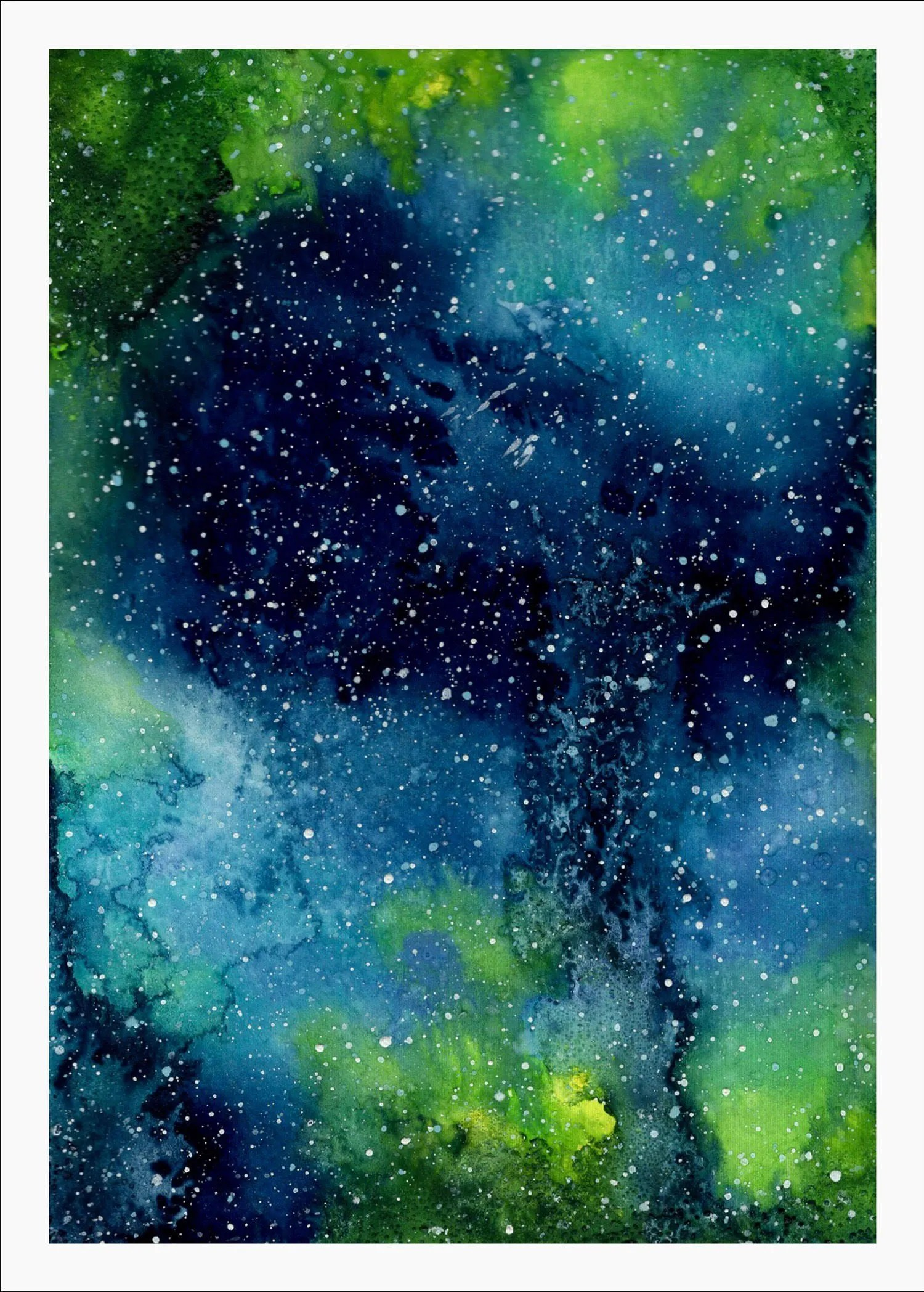 Watercolor Galaxy