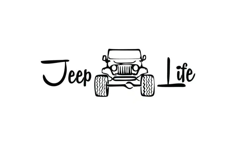 Jeep Got Mud Decal Jeep Life Car Decal Jeep Life Vinyl t