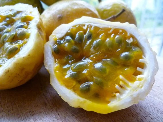Passionfruit Seed Organic Tropical Caribbean Yellow Lilikoi | Etsy