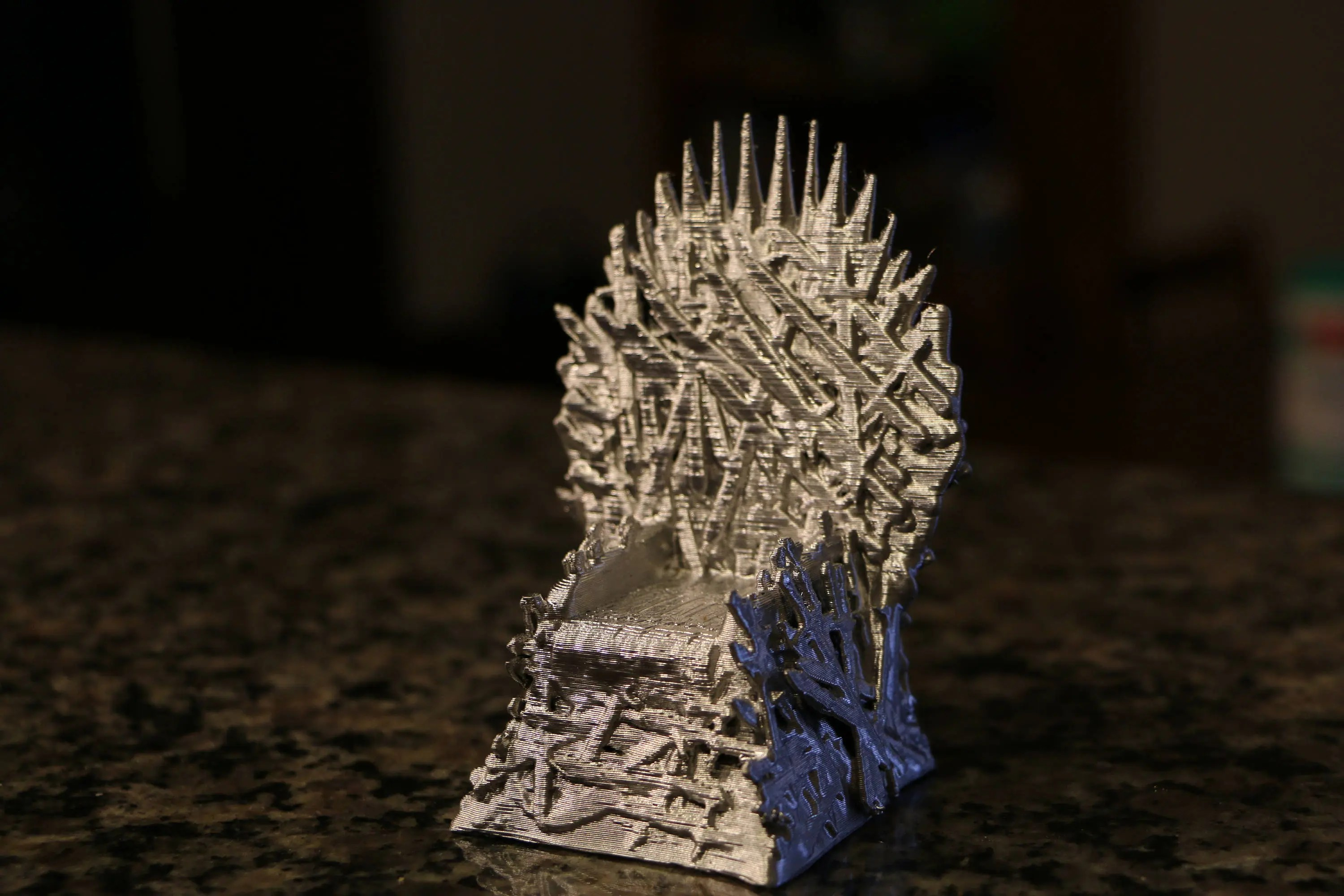 iron throne chair backboard spandex covers wholesale china etsy game of thrones 3d printed model father s day gift