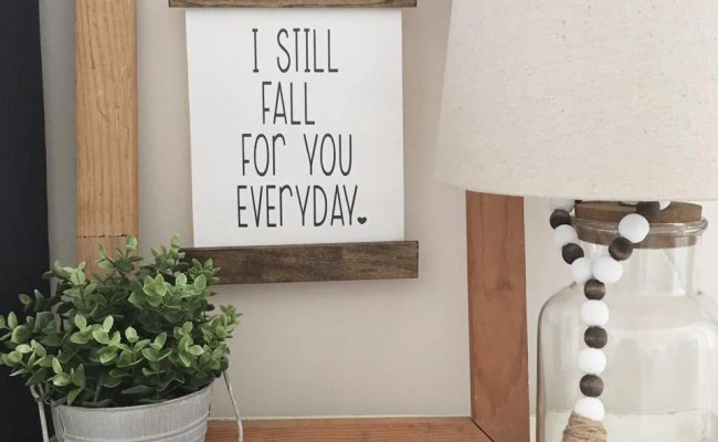Canvas Banner Wood Sign Home Decor Gallery Wall Sign