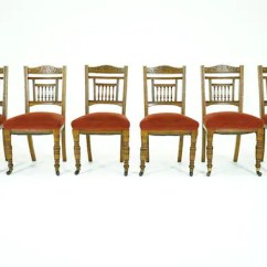 Antique Dining Chairs Value Graco Blossom High Chair Winslet Oak Vintage Etsy Image 0