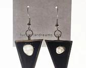 Moon Phase Drop Earrings ...