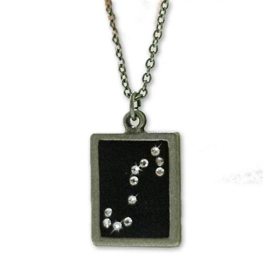 Scorpio necklace w Swarov...