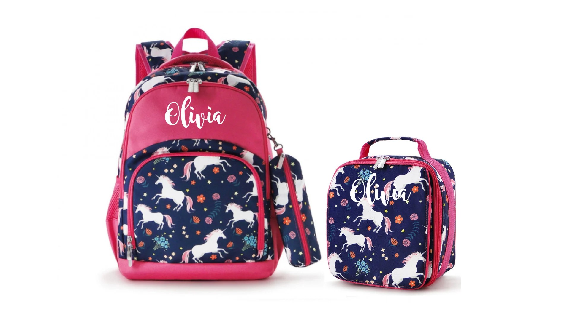 personalized kids backpack etsy