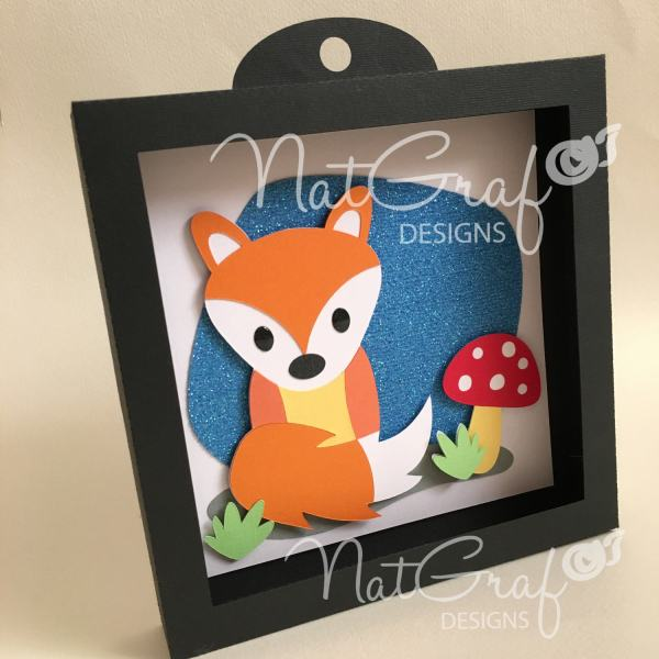 Svg Fox Wall Art Paper Cut File Cutting Machines