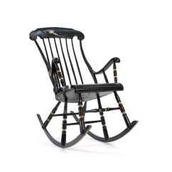 1920s Rocking Chair Best Bouncy For Baby With Reflux Etsy 1800s Swedish Gungstol 6 Legged Free Shipping
