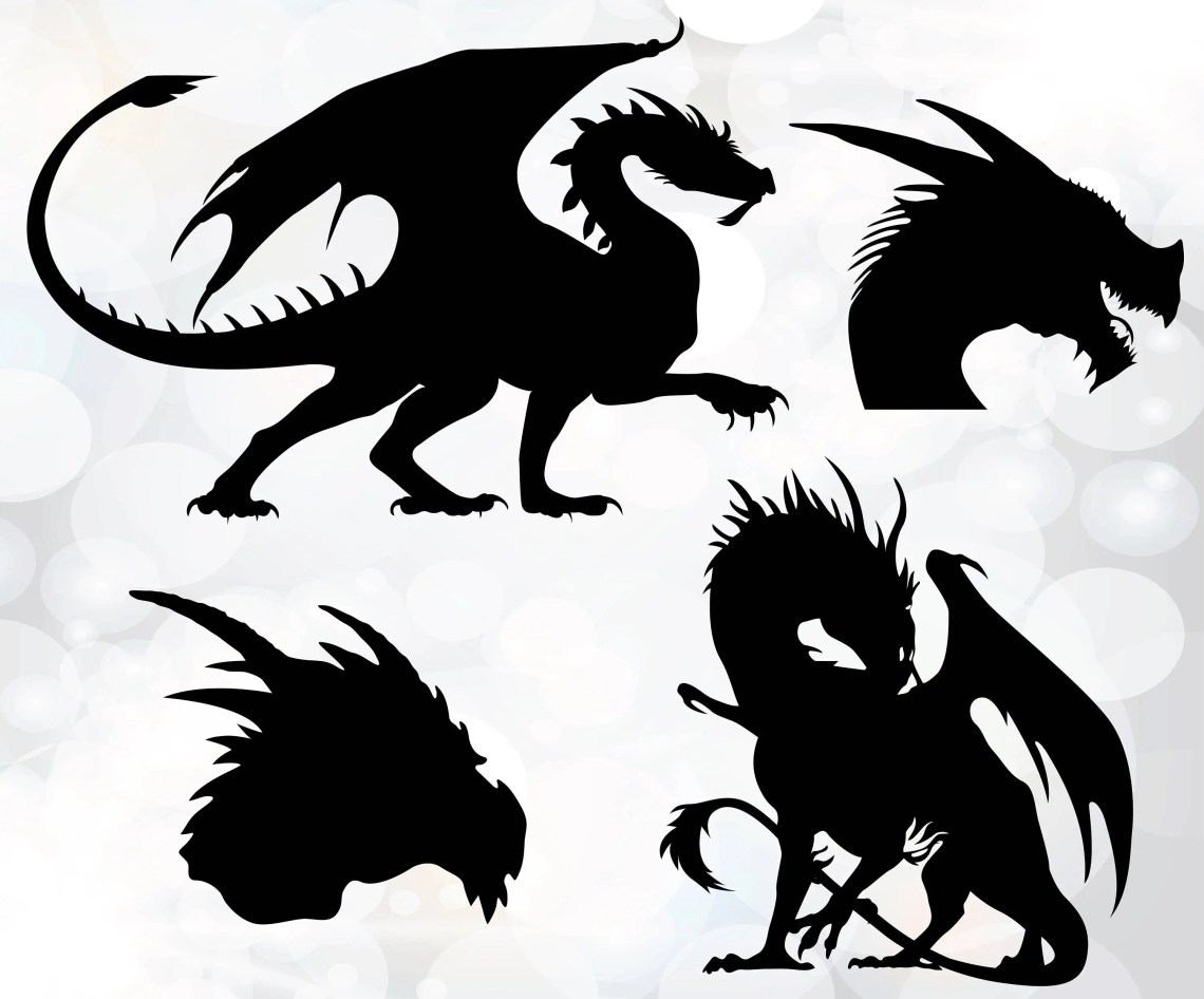 Download Dragons Svg Game of thrones dragons svg Dragon cut files ...