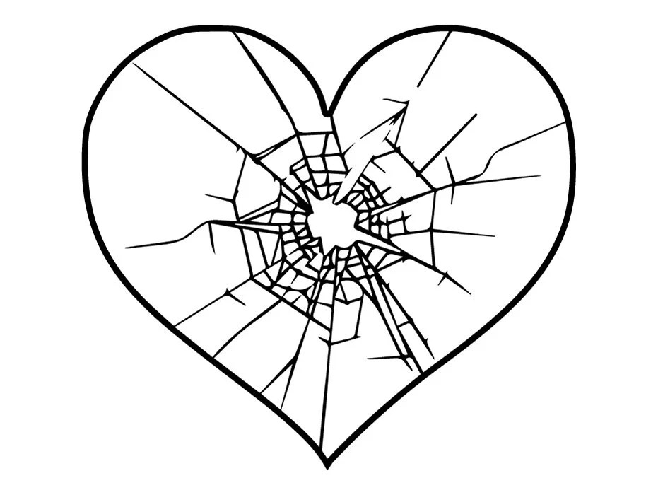 Shattered Heart Png