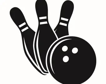 Download Bowling ball svg | Etsy