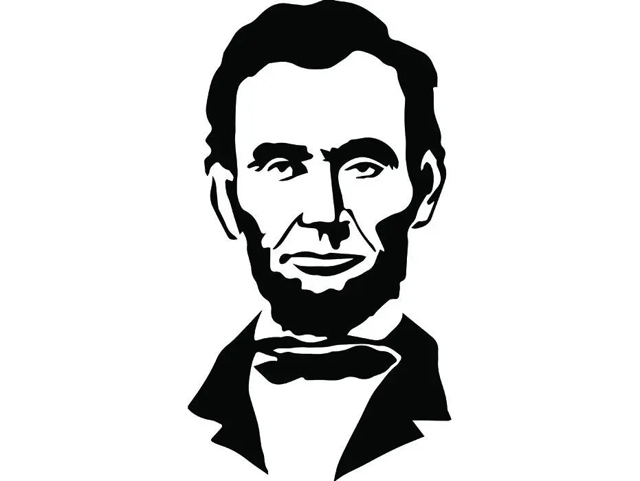 Abraham Lincoln #2 President Famous American History