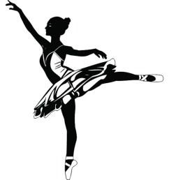 ballet dancer 2 ballerina music dance performance dancing dancer classical grace logo svg png clipart vector  [ 1588 x 1194 Pixel ]