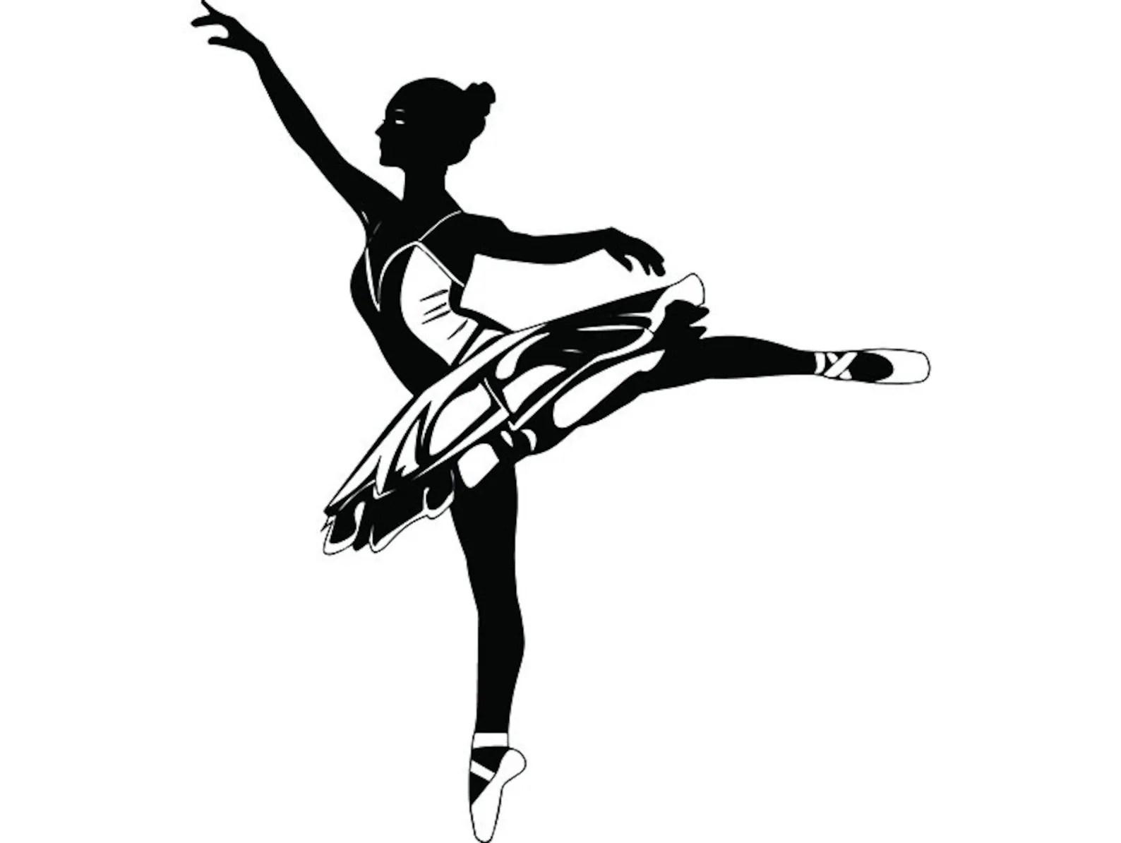 hight resolution of ballet dancer 2 ballerina music dance performance dancing dancer classical grace logo svg png clipart vector
