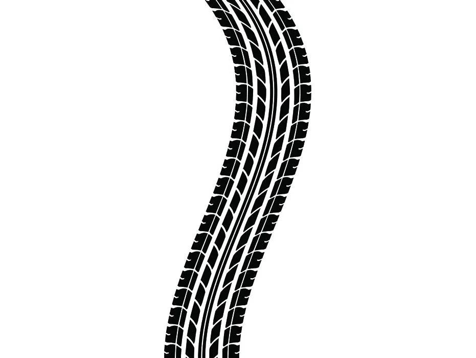 Tire Track 2 Tread Racing Race Mechanic Engine Repair