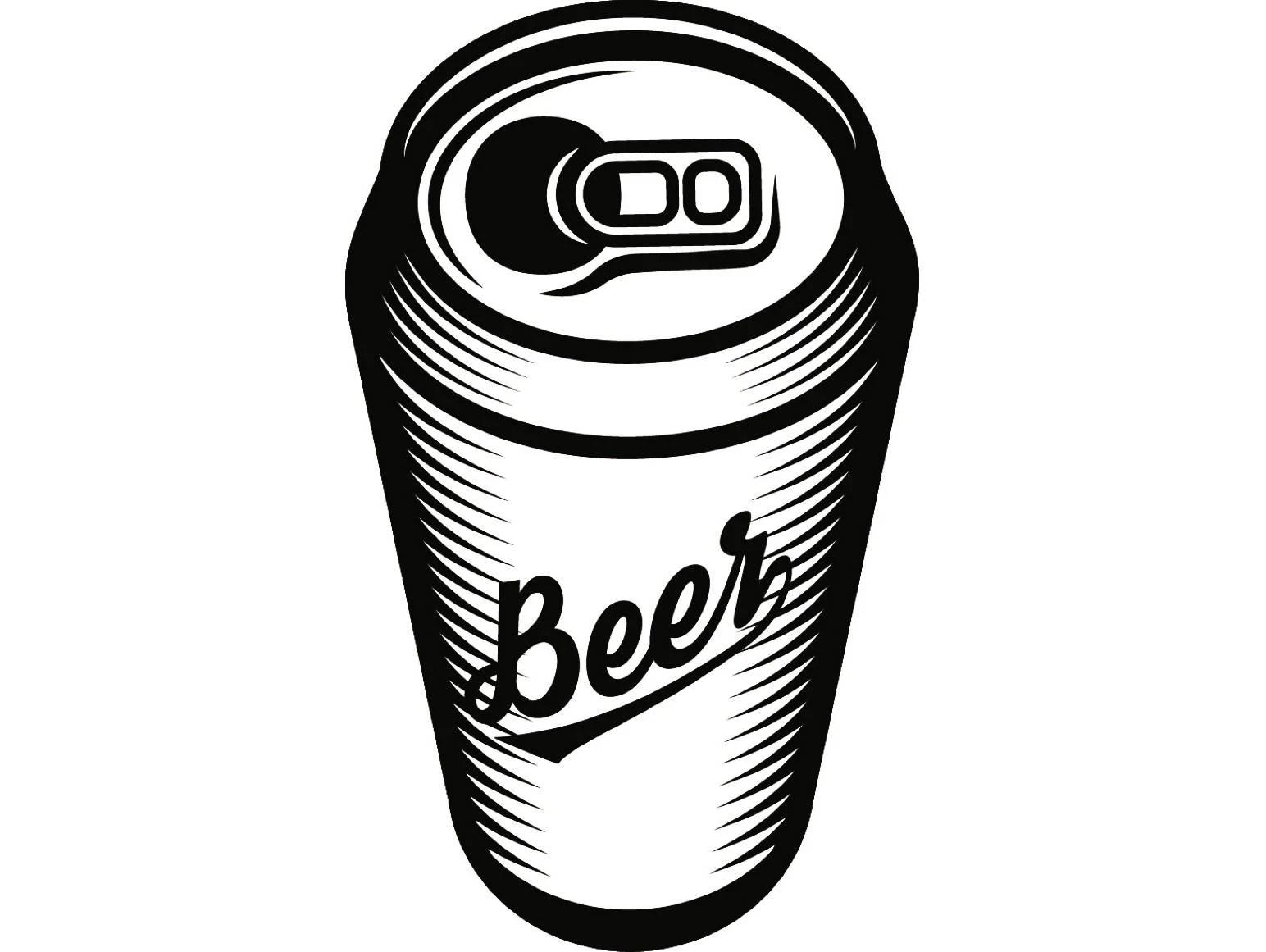 Beer Can 2 Bar Pub Tavern Bartender Aluminum Six Pack