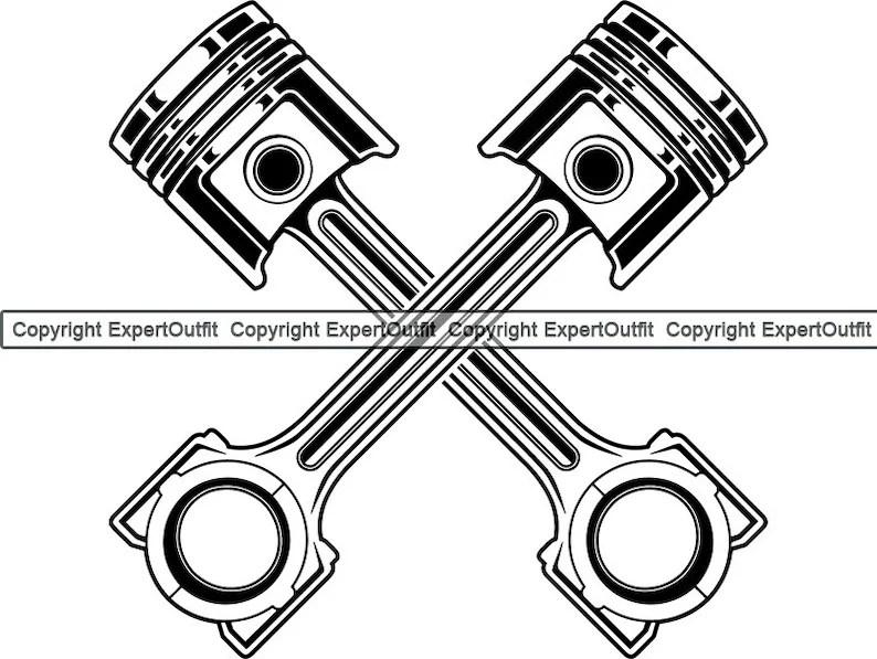 Mechanic Engine Piston Ring Diesel Car Vehicle Automotive
