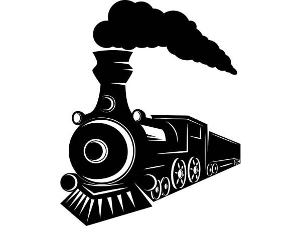 Steam Engine 7 Train Locomotive Vintage Railroad Railway