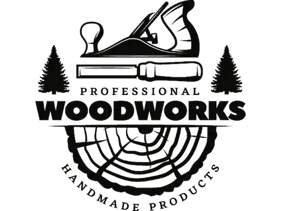 Woodworking Logo 5 Plane Carpenter Tool Build Occupation