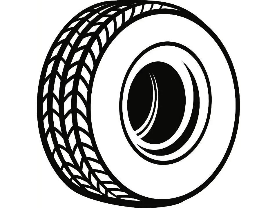 Tire 1 Rim Wheel Mechanic Engine Repair Service Shop