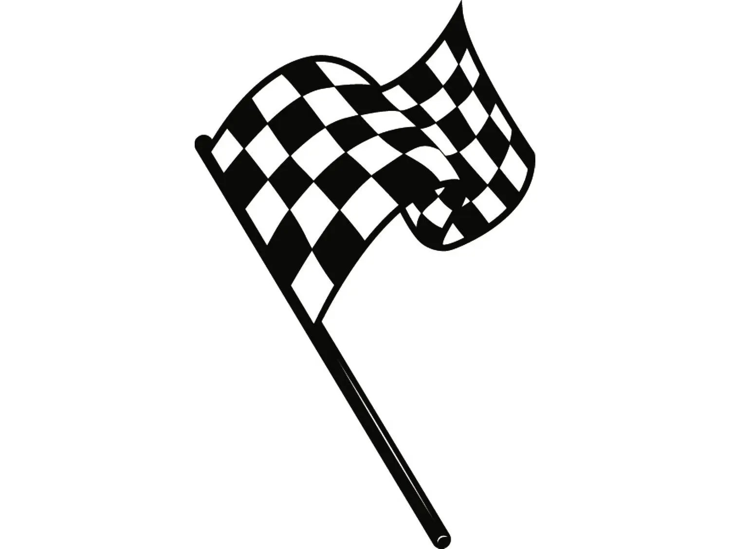 Checkered Flag 2 Superbike Motorcycle Car Truck Nascar