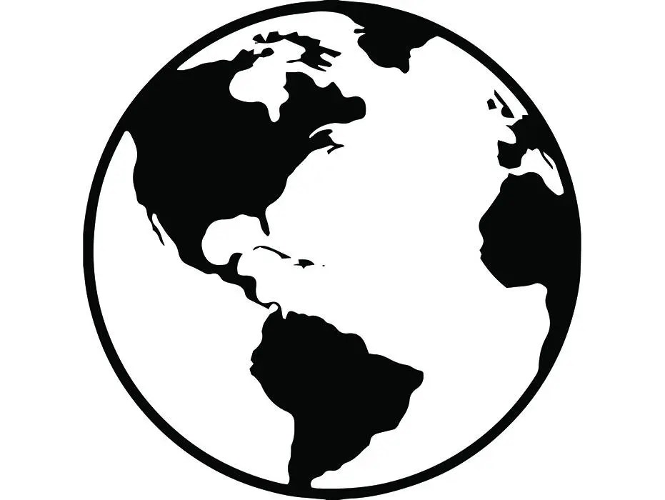 World Map 1 Earth Country National Nation Flag Symbol